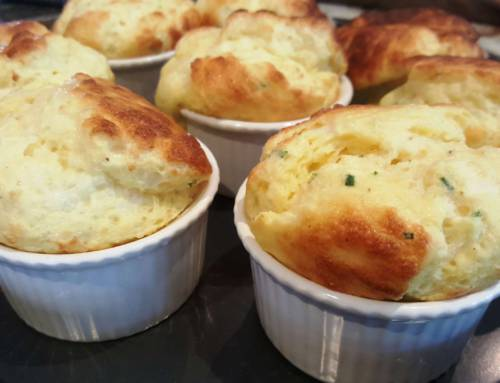 Cheese Soufflé – Three Cheeses, Twice baked