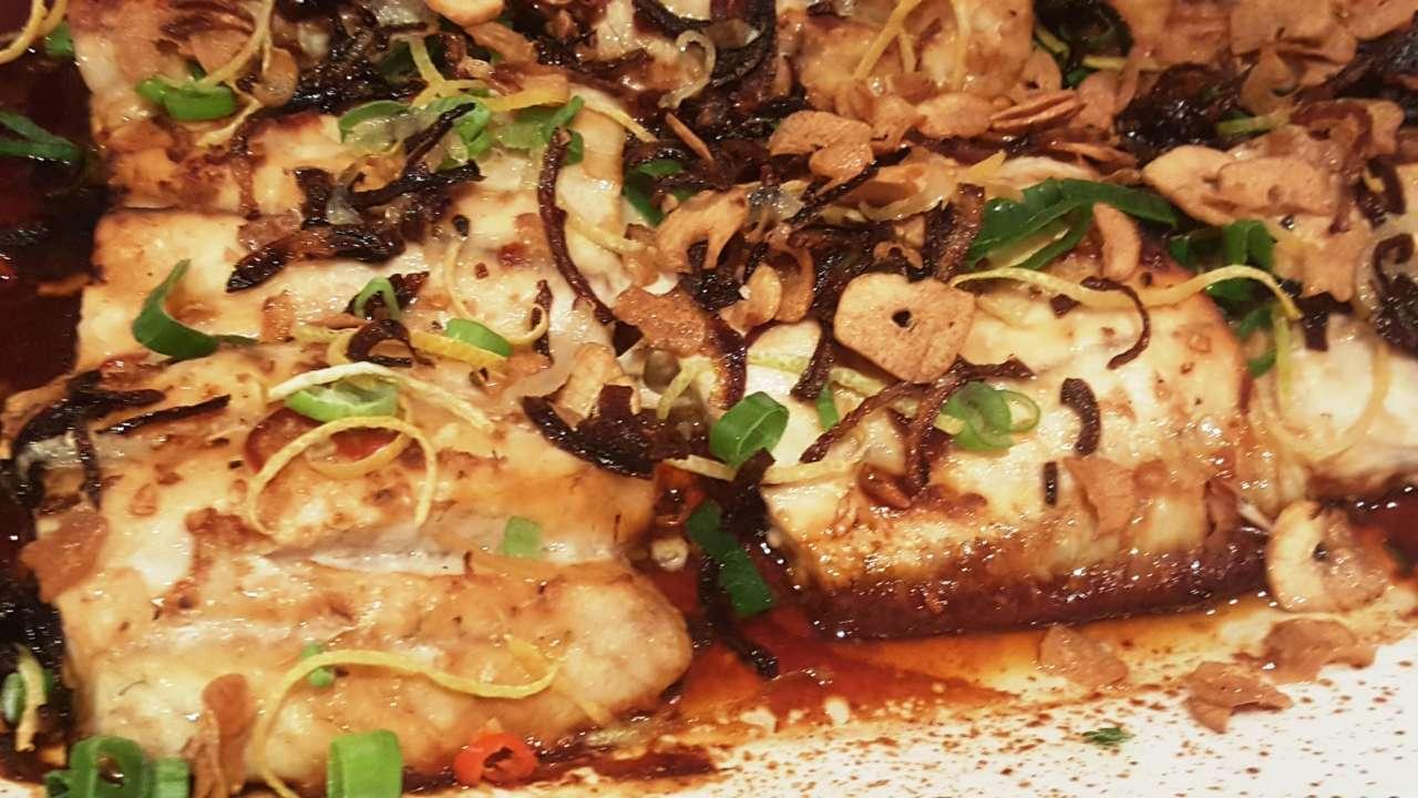 Fish with Vietnamese Caramel Sauce - Food Wine Garden