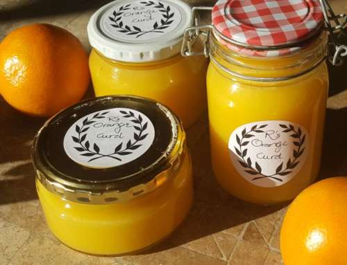 Lemon or orange curd