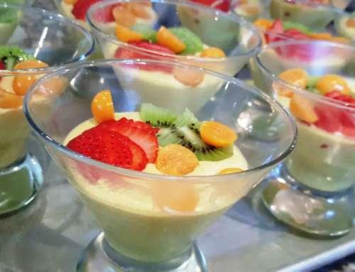 Turmeric, honey and Yoghurt Mousse