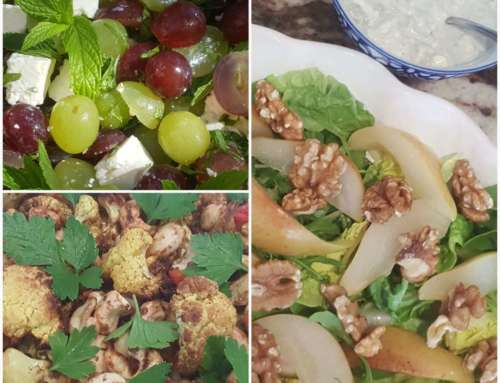 Salad days are here again….. 3 great salads!