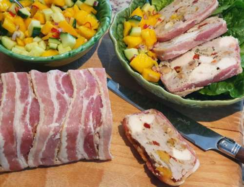 Pork & Chicken Terrine with Mango