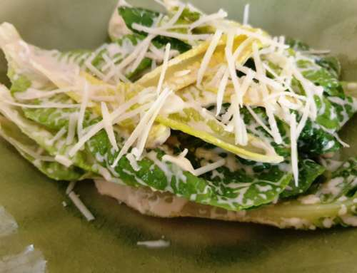 Lean Caesar Salad (egg free)
