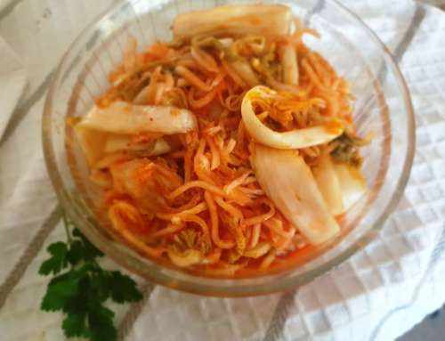 Kimchi – A Korean Cabbage Pickle