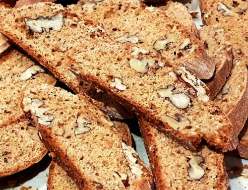 Biscotti with Pecans and Chai Spices