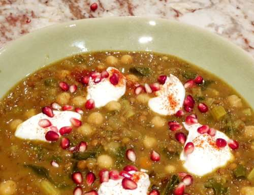 Middle Eastern Spinach Soup